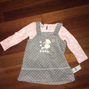 Baby Girl's 2 Piece Dress Set
